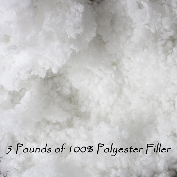Shop 5 Pounds Of Polyester Pillow Filling Stuffing On