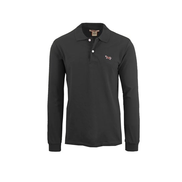1006984f Shop Men's Long Sleeve Long-Tail Polo Shirts - Free Shipping On ...