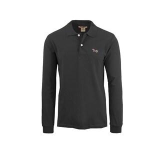 Men's Long Sleeve Long-Tail Polo Shirts