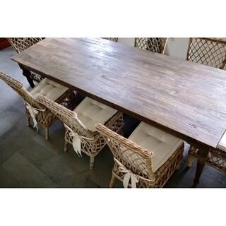 Dining Table 260 Teak Wood - Brown