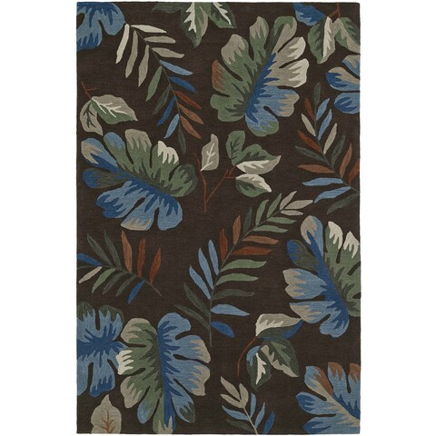 ADDISON Nassau Tropical Palm Area Rug (9' x 13')