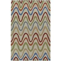 Addison Venice Modern Chevron Indoor/Outdoor Area Rug (9' x 13')