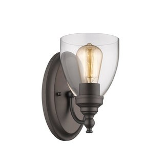 Chloe Transitional 1-light Oil Rubbed Bronze Wall Sconce
