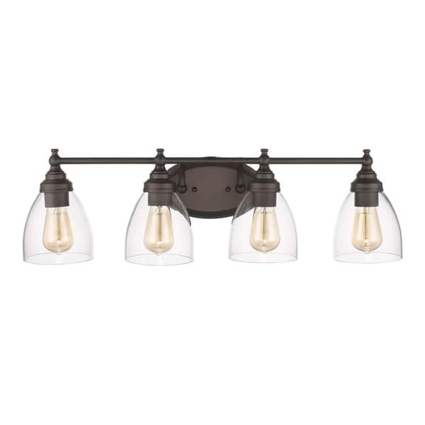 Chloe Transitional 4 Light Oil Rubbed Bronze Bath Vanity Light Overstock 19519469