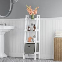 RiverRidge Amery Collection 4-Tier Floor Shelf