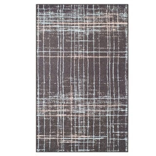 Superior Designer Painted Stripes Area Rug collection  (4' x 6')