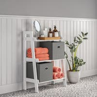 RiverRidge Amery Collection 3-Tier Floor Shelf