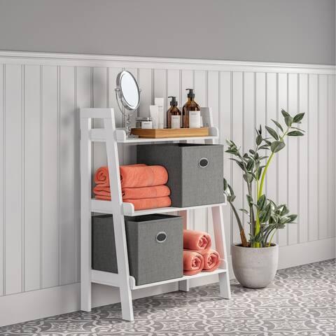 RiverRidge Amery Collection 3-Tier Floor Shelf