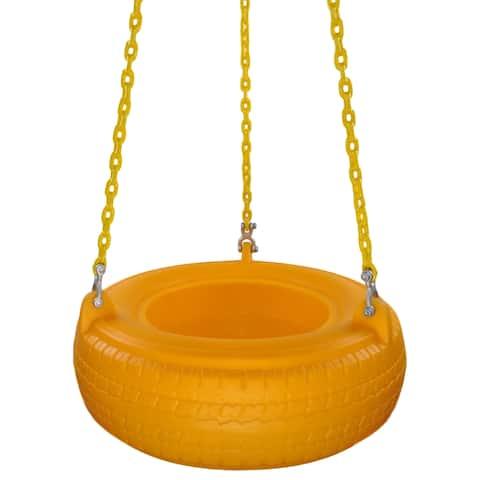 Swing Set Stuff Inc. Plastic Tire with Coated Chain