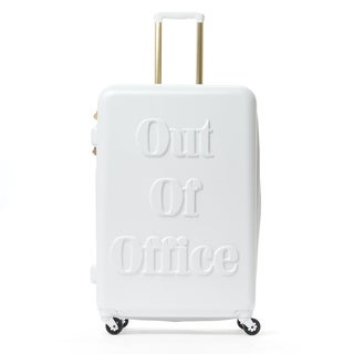 Macbeth Out of Office White 29-inch Hardside Spinner Upright Suitcase