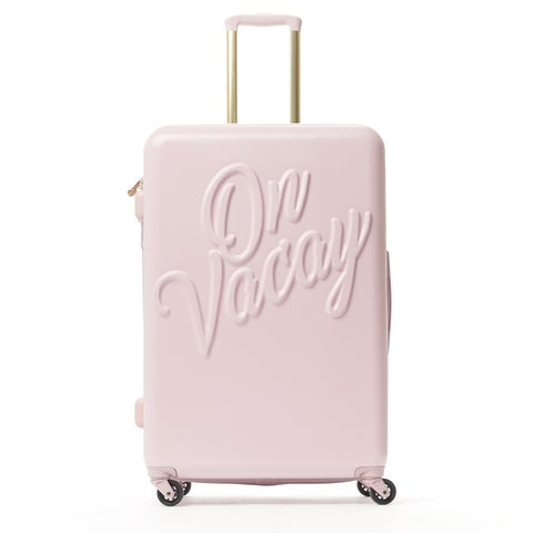 Macbeth On Vacay Pink 29-inch Hardside Spinner Upright Suitcase