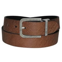 Buxton Lager Reversible Leather Belt