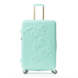 Macbeth Take Me Away Mint 29-inch Hardside Spinner Suitcase