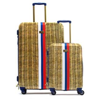 Macbeth Nauti Provence 2-piece Hardside Spinner Luggage Set