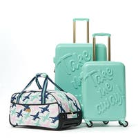 Macbeth Take me Away Mint 3-piece Hardside Spinner Luggage Set