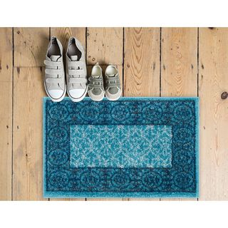 Well Woven Melbourne Modern Solid Light Blue Area Rug - 2' x 3'