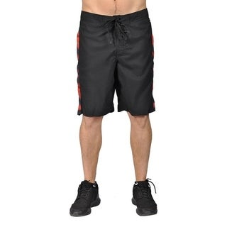 Joe Boxer Men's Graphic Design Drawstring Board Shorts