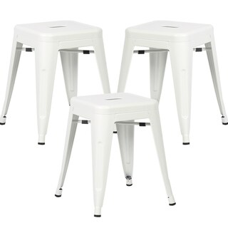 Poly and Bark Trattoria 18-inch Stool (Set of 3)