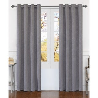 Dainty Home Matelasse Extra Wide Grommet Window Curtain Panel Pair (3 options available)