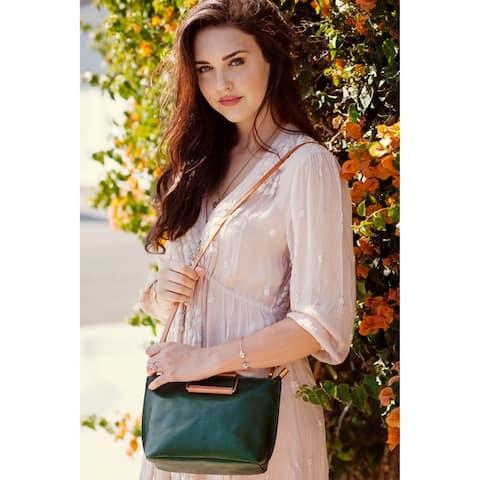 Old Trend Pome Genuine Leather Crossbody Bag