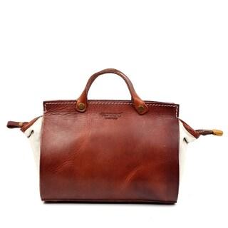 Old Trend Out West Genuine Leather Satchel Handbag