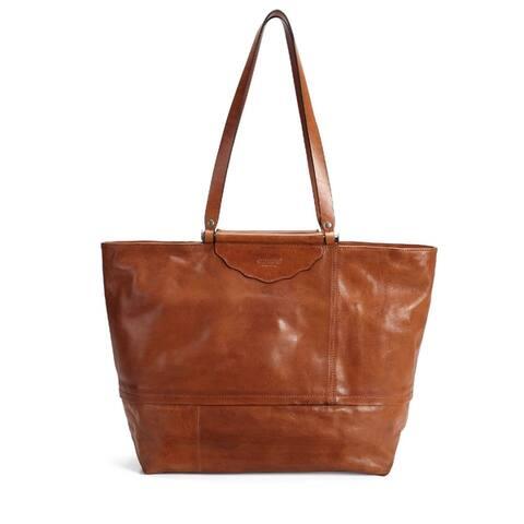 Old Trend Holly Leaf Genuine Leather Tote Bag
