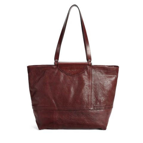 Old Trend Holly Leaf Genuine Leather Tote Bag