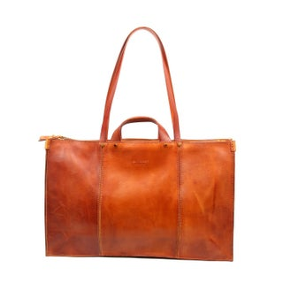 Old Trend Sandstorm Large Genuine Leather Tote Bag