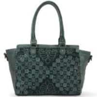 Old Trend Gem Petals Satchel Handbag