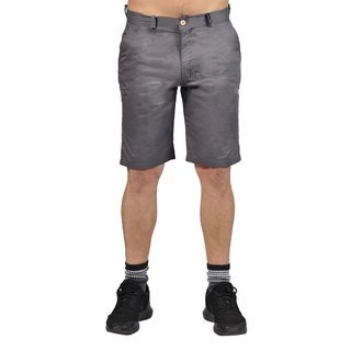 Jean Legacy Mens Casual 2 pocket Chino Shorts Grey