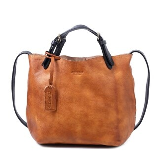 Old Trend Dip Dye Genuine Leather Mini Tote Bag