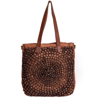 Link to Old Trend Stellar Stud Genuine Leather Tote Bag Similar Items in Shop By Style