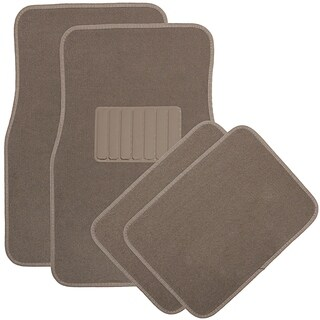 "OxGord Universal Fit 4-Piece Set Heavy Duty ""DELUXE"" Floor Mats"