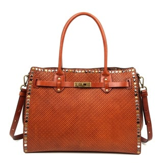 Link to Old Trend Westland Genuine Leather Satchel Similar Items in Shop By Style
