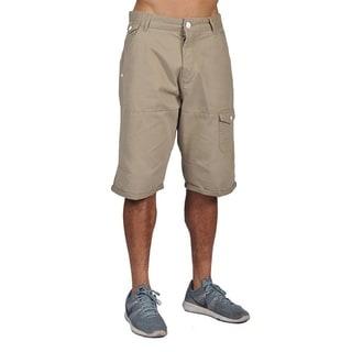 Worior Mens Casual Design Cargo Shorts Khaki