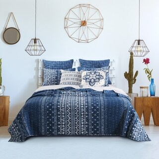 Embry Indigo Quilt Set (3 options available)