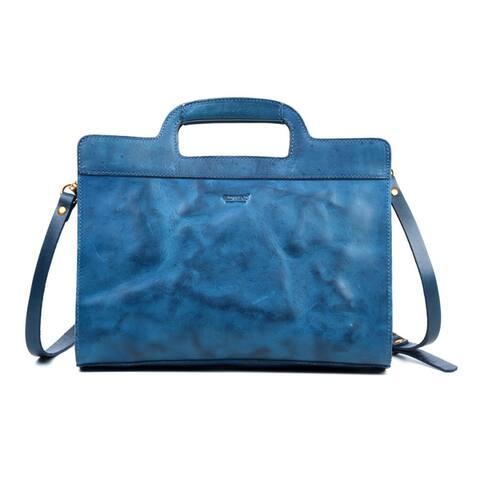 Old Trend Sleek Creek Small Genuine Leather Crossbody Bag