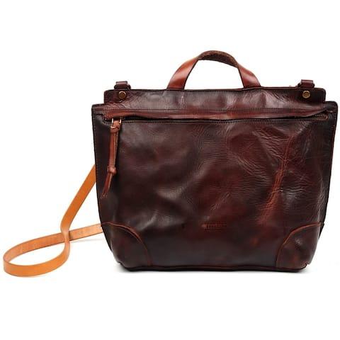 Old Trend Brookside Genuine Leather Crossbody Bag
