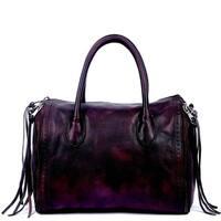 Old Trend Sunny Hill Leather Satchel Handbag