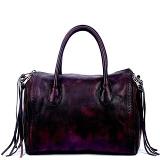 Old Trend Sunny Hill Leather Satchel Handbag (3 options available)