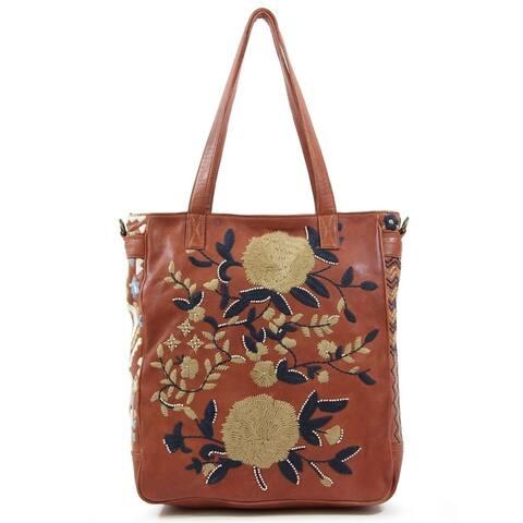 Old Trend El Cosmica Genuine Leather Tote Bag