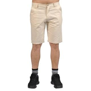 Jean Legacy Mens Casual 2 pocket Chino Shorts Cream