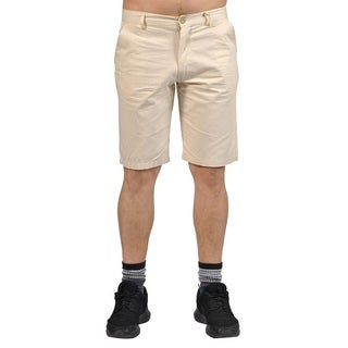 Jean Legacy Mens Casual 2 pocket Chino Shorts Cream