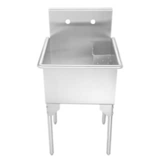 Whitehaus Collection Single Bowl Freestanding Utility Sink