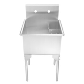 Whitehaus Collection Single Bowl Freestanding Utility Sink
