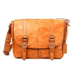 Old Trend Moonlight Leather Messenger Bag