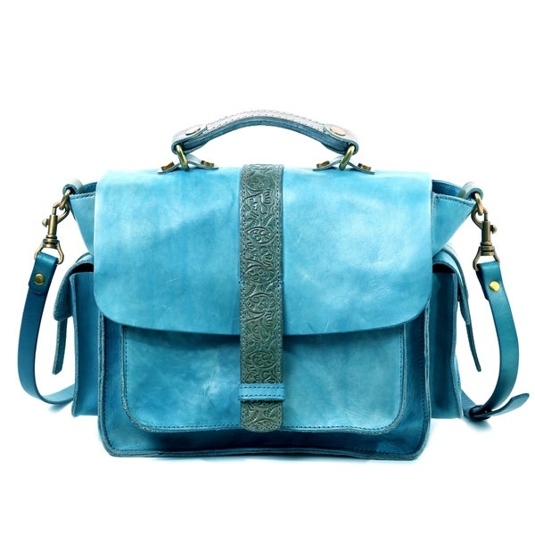 Old Trend Valley Breeze Genuine Leather Crossbody Bag