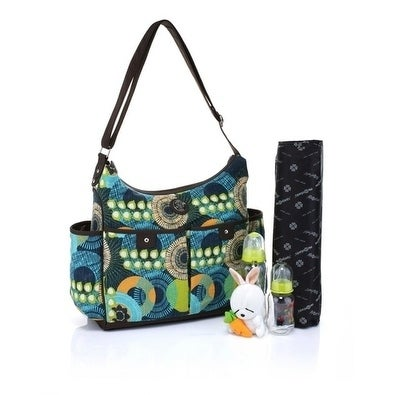 Mes Enfants Seasons Multi-Pockets Microfiber Baby Bag