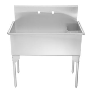 Whitehaus Collection Large Single Bowl Freestanding Utility Sink