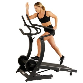 ASUNA Hi-Performance Cardio Trainer Manual Treadmill with Adjustable Incline, Magnetic Resistance
